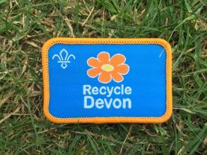 recycle devon badge